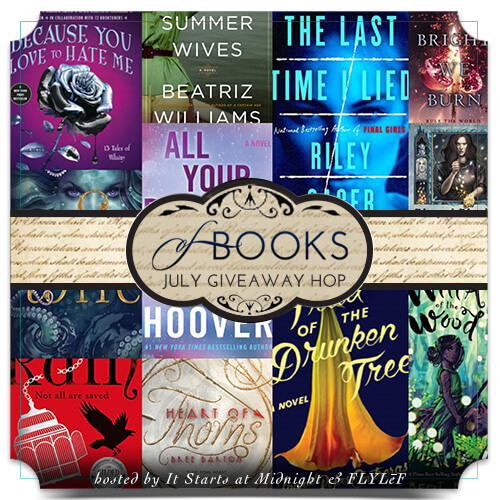 Book Giveaway Hop: July 2018 New Releases